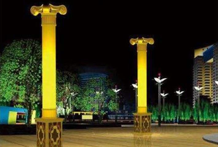 广场景观灯对城市形象的作用