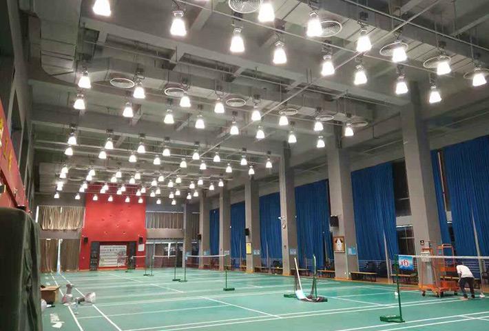 北京市海淀区体育馆羽毛球场馆LED工程案例