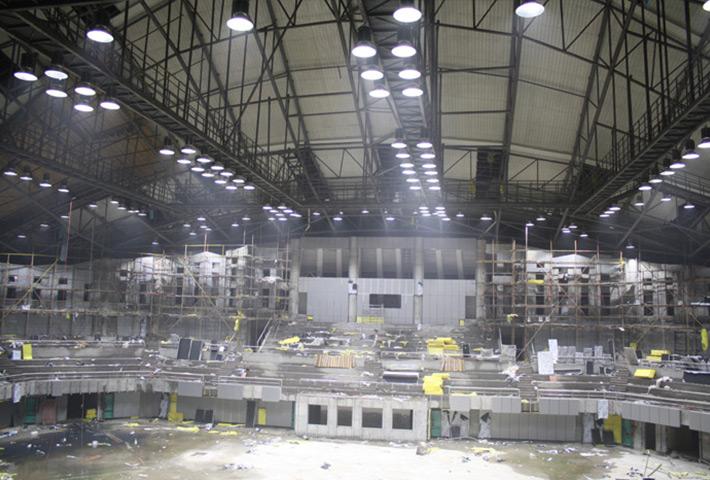山东LED工矿灯工程案例