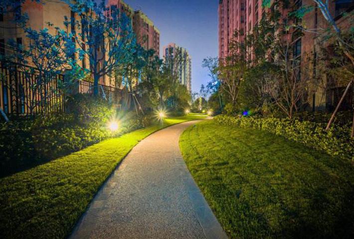 夜景照明方式