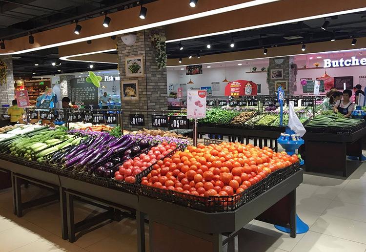 超市轨道射灯厂家:超市灯光选择好,卖场外观大不一样