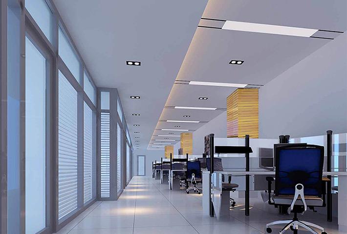 惠州格栅射灯厂家:格栅射灯的使用方案